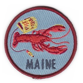 Quiet Tide Goods Patch - Maine Lobster
