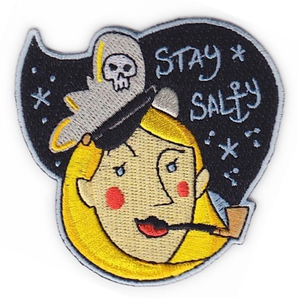 Quiet Tide Goods Patch - Stay Salty