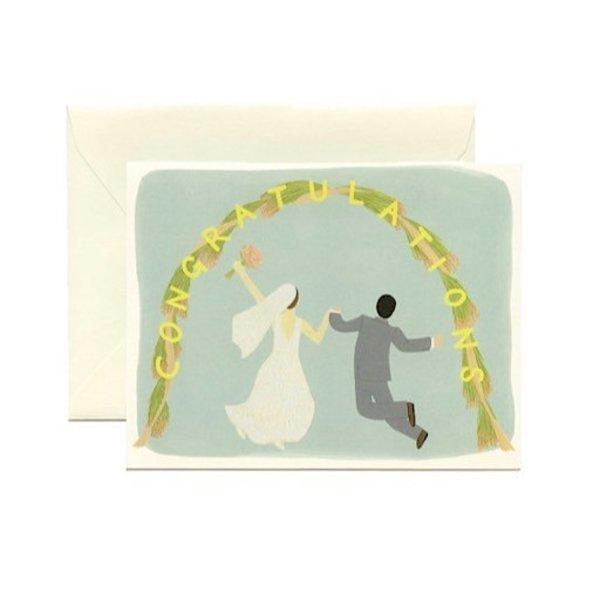 Yeppie Paper Wedding Arch Congrats Card