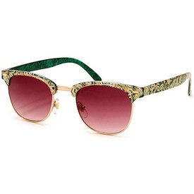 Soho Sunglasses - Green Floral