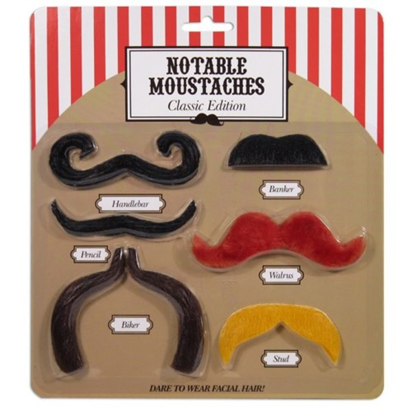 "Notable Moustaches ""Classic Edition"""
