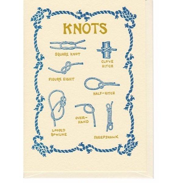 Saturn Press Knots Card
