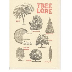Saturn Press Tree Lore Card