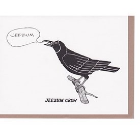 N'East Paper Card - Jeezum Crow