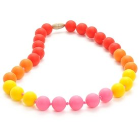 Chewbeads Bleeker Jr Necklace - Punchy Pink