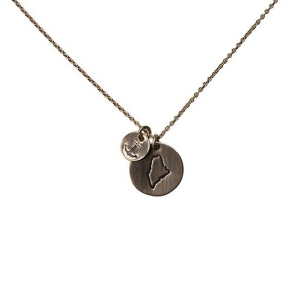 Emma Alexander Necklace - Maine Charms - 14K Gold-Fill