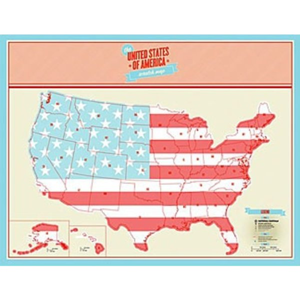Scratch Map - US Edition