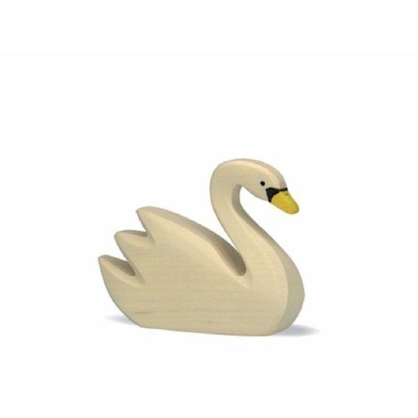 Holztiger Wooden Swan