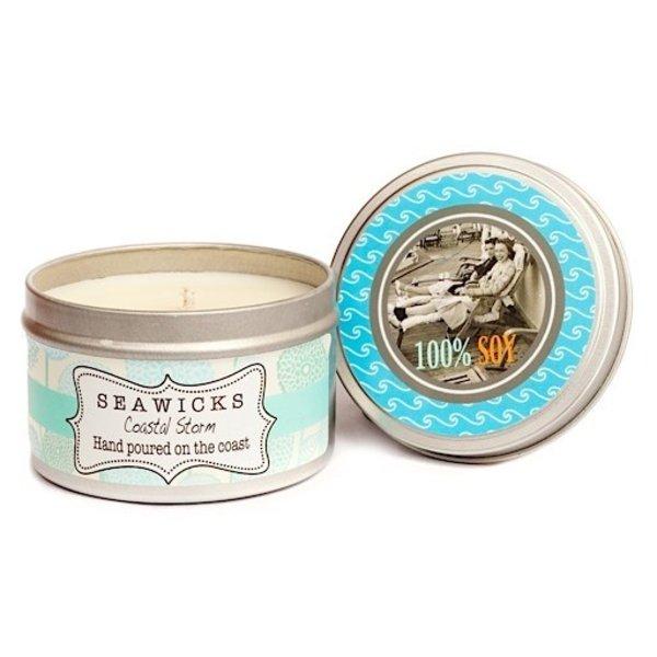 Seawicks Tin Candle - Coastal Storm