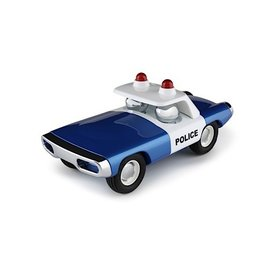 Playforever Maverick Heat Sheriff Car - Voiture De Police Blue
