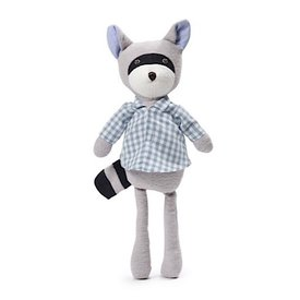 Hazel Village Max Raccoon - Gingham Shirt