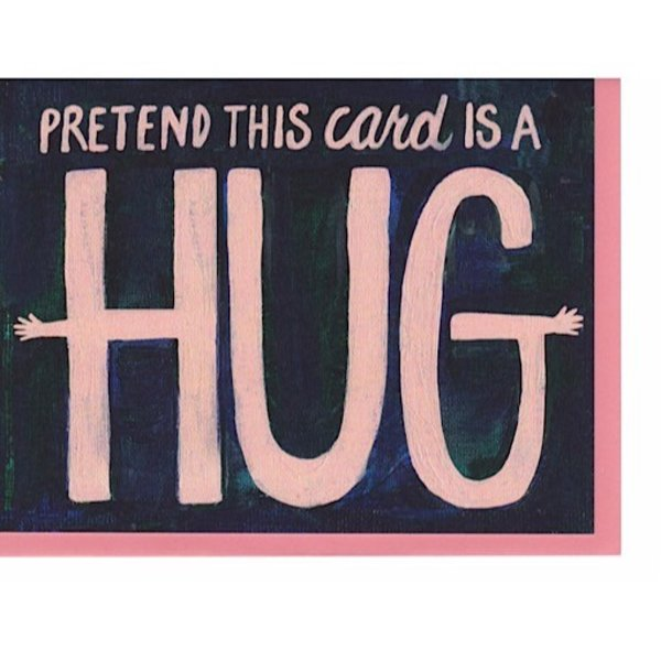 Hoopla Love Pretend Hug Card