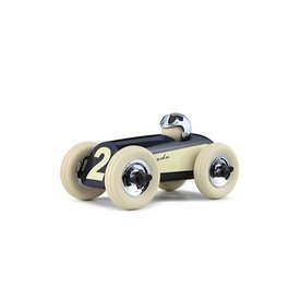 Playforever Midi 2 Race Car Clyde  - Navy/Chrome