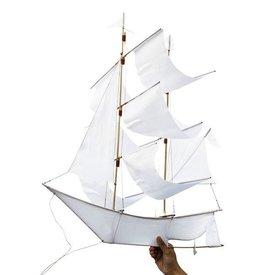 Haptic Lab Sailing Ship Kite - White