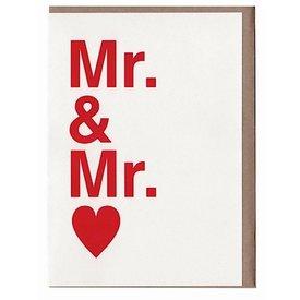 Sad Shop - Mr. & Mr. Card