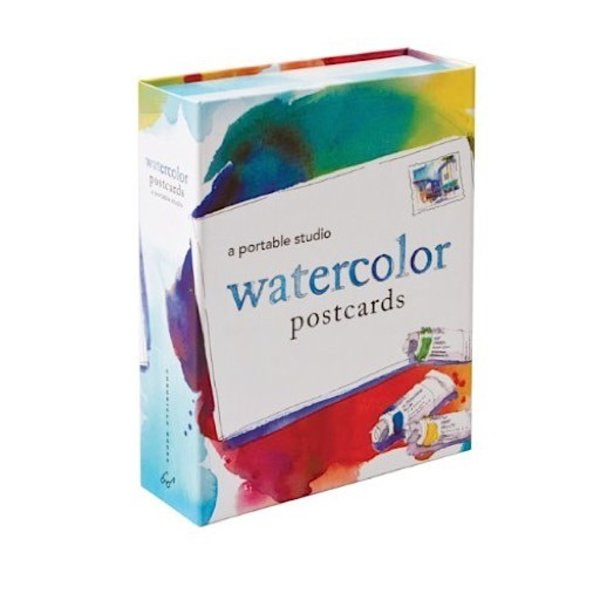 Watercolor Postcards - A Portable Studio