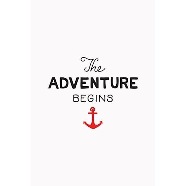 Scout's Honor Co. Print - The Adventure Begins - 5x7