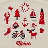 Pinecone + Chickadee Kids Organic Iconic Maine T-Shirt