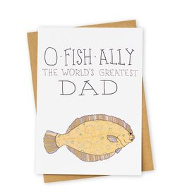 Tay Ham O-Fish-Alley The World's Greatest Dad Card