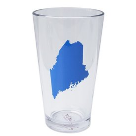 Maine State Pint Glass - Bluebird