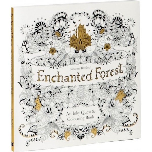 Enchanted Forest - An Inky Quest & Coloring Book
