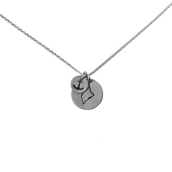 Emma Alexander Necklace - Maine Charms - Sterling Silver