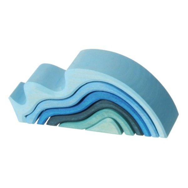 Grimms Water Waves Stacker - Small