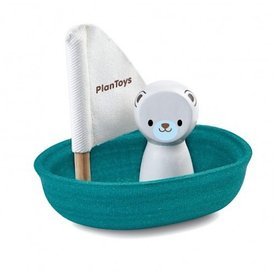 Plan Toys Sailing Boat - Polar Bear