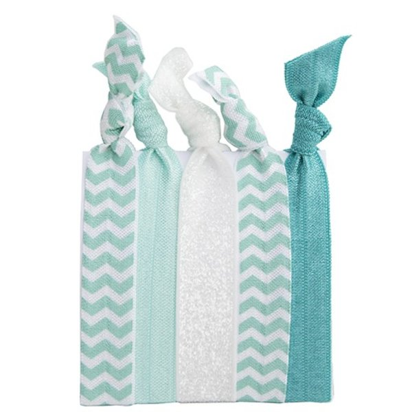 Hair Ties Set of 5 - Mint Medley