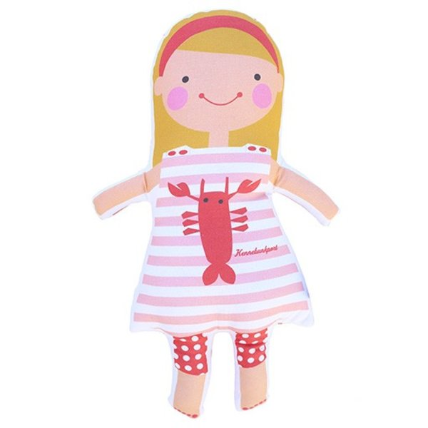Sophie & Lili Kennebunkport Custom Doll Headband Blonde - Lobster Dress
