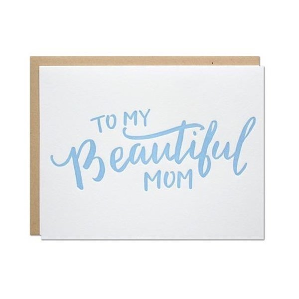 Parrott Design Card - Beautiful Mom