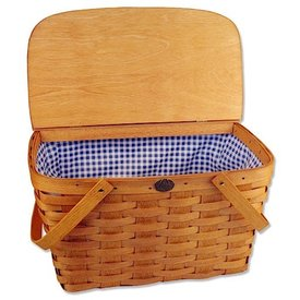 Peterboro Traditional Picnic Basket - Honey