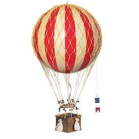 Hot Air Balloon Travels Light - Red - 18 cm