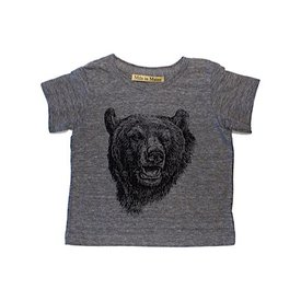 Milo In Maine Baby Tee - Black Bear