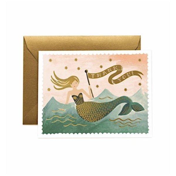 Rifle Paper Co. Card - Mermaid Thank You