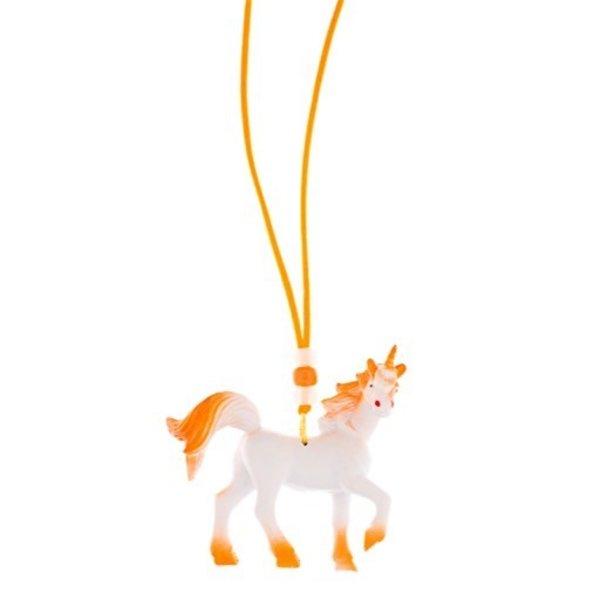 Little Lux Anaranjado The Unicorn Necklace
