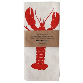 Morris & Essex Lobster Tea Towel