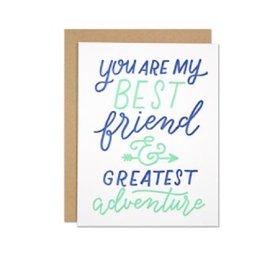Parrott Design Card - Best Friend Love