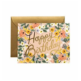 Rifle Paper Co. Card - Rose Birthday