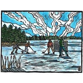 Blue Butterfield Card - Hamilton Pond Ice Hockey