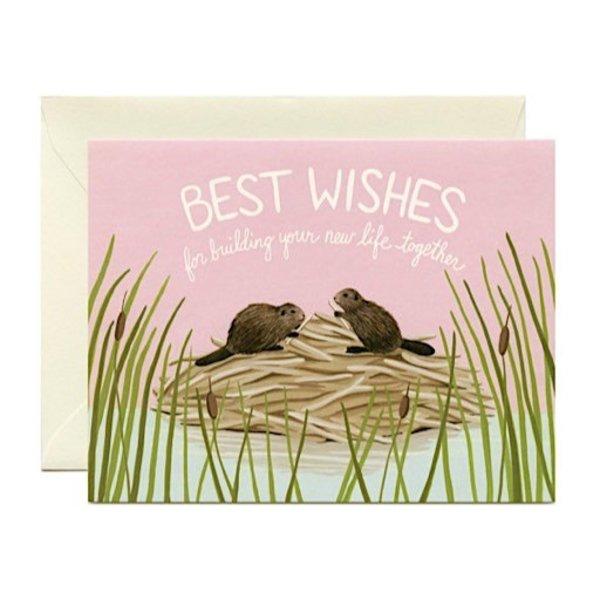 Yeppie Paper Best Wishes Card