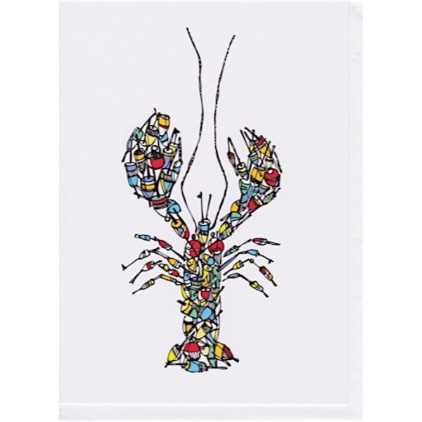 Buoy Pile Lobster Card