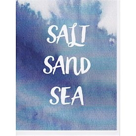 Annie Taylor Salt Sand Sea Card