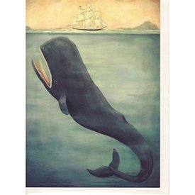 Emily Winfield Martin Card - Leviathan Below