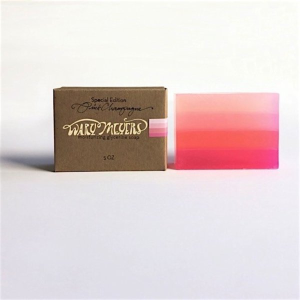 Wary Meyers Soap - Pink Champagne
