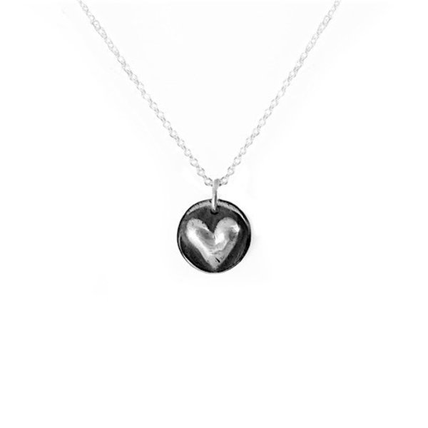 Emma Alexander Necklace - Heart - Sterling Silver