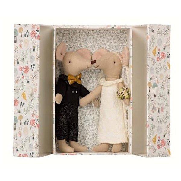 Maileg Mice - Wedding Couple in Box
