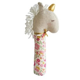 Alimrose Yvette Unicorn Squeaker - Rose Gaarden
