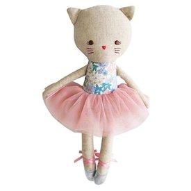 Alimrose Odette Kitty Ballerina - Liberty Blue