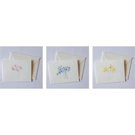 Sara Fitz Floral Card Set - Box of 12